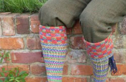 Fairisle Stockings - Patterned Tops