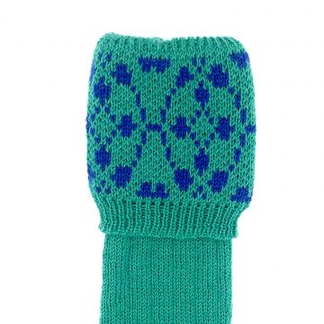 Emerald, royal blue Wear 4 ply 11-12