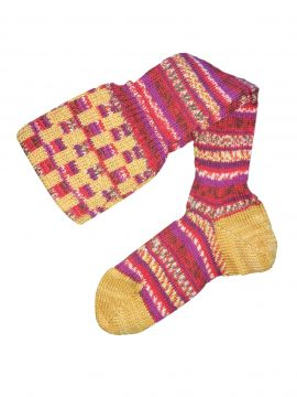 Fairisle Shooting Stocking - Patterned Top