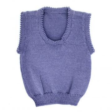 Lilac scoop neck 0-3 m
