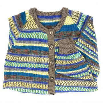 New blue cardigan 3-4 y
