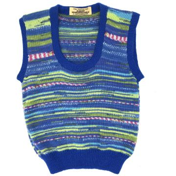 Royal blue scoop neck 3-4y