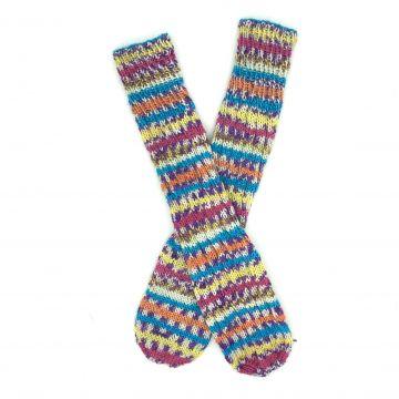 Striped boot socks 1-2 y