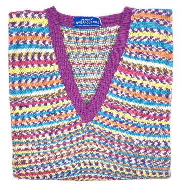 """Swaledale sleeveless V neck 38"""""""