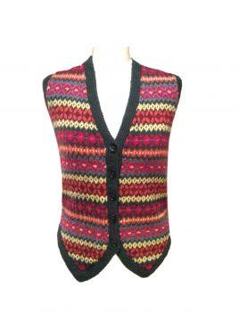 Traditional Fairisle Waistcoat