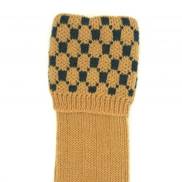 Mustard, holly Rede 8 ply 9-10