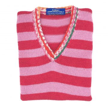 Pink Stripe tunic 4-5 y