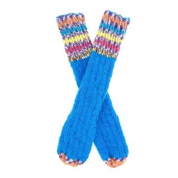 Turquoise boot socks 0-1 y