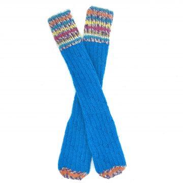 Turquoise boot socks 2-3 y