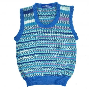 Water blue scoop neck 2-3 y