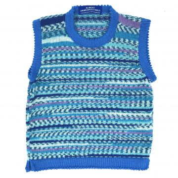 Water blue tunic 2-3 y