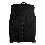Classic Sleeveless Cardigan