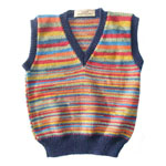 Children's Fairisle Sleeveless Jersey
