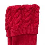 Bright Red cable, 8 ply. 5-6