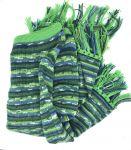 English green poncho