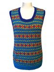 Bright Fairisle Sleeveless Jersey
