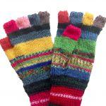 Patterned  Fingerless Gloves
