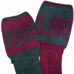 Grouse & Claret Stockings